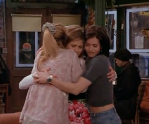 best friends, courtney cox, and Lisa Kudrow image
