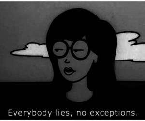 lies, quote, and Daria image