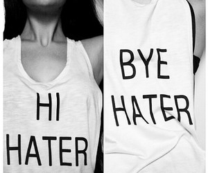 girl, hate, and hater image