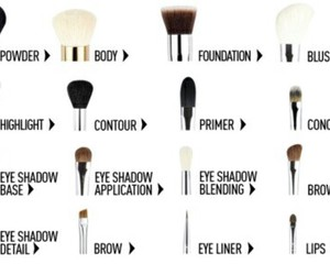Brushes, cool, and makeup image