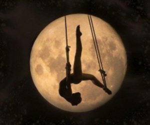 moon, ballet, and flexibility image