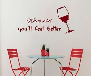 quote, home decor, and wall decals image