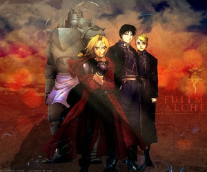 anime and fullmetal alchemist image