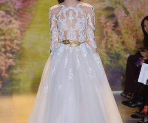 dress, Zuhair Murad, and white image