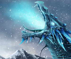 dragon and ice image