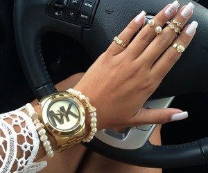 luxury, Michael Kors, and nails image