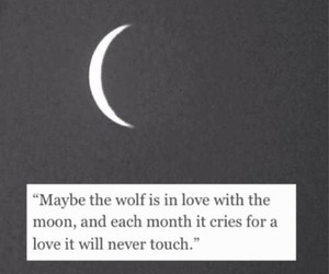 cry, maybe, and moon image