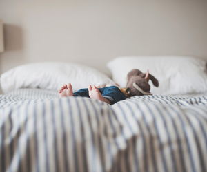 baby and bed image