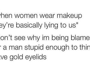 funny, makeup, and true image