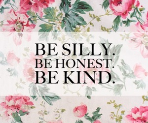 kind, silly, and honest image