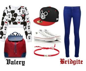backpack, street style, and sweatshirt image