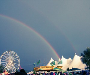 festival, rainbow, and two image