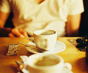 coffee, boy, and photography image