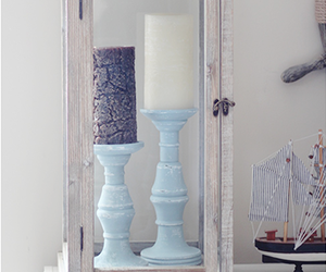 diy candle holders image