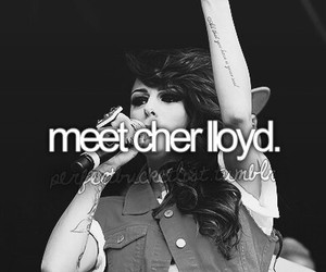 cher lloyd, beautiful, and before i die image