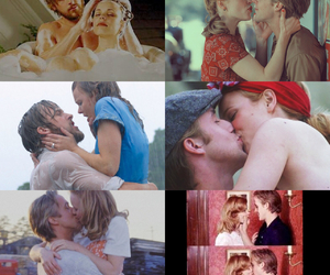 film, kiss, and love image