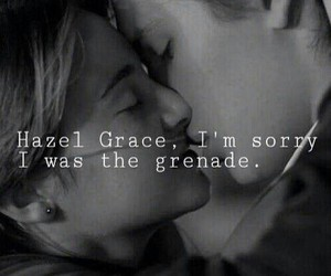 Grenade, love, and the fault in our stars image