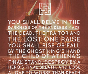 prophecy, and the olympians, and percy jackson image