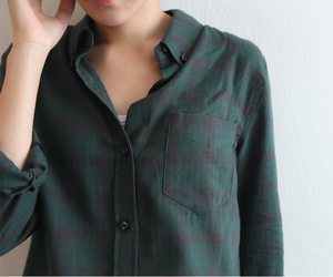 style, fashion, and flannel image