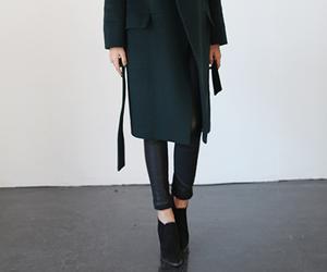 clothing, coat, and autumn image