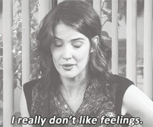 himym, feelings, and sad image