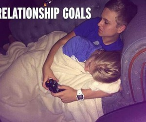 couples, goals, and hug image