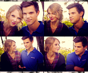 Taylor Lautner and Taylor Swift image
