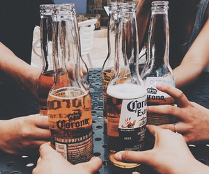 beer, friends, and drink image