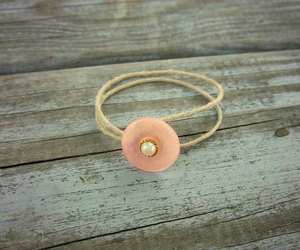 bracelet, button, and handmade image