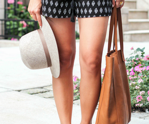 hat, bag, and fashion image