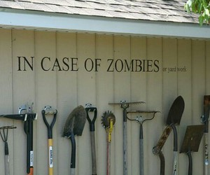 zombies, funny, and zombie image