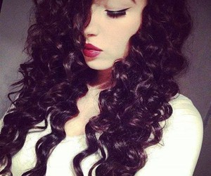 beautiful, belleza, and curly image