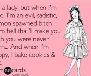 bitchy, Cookies, and lady image