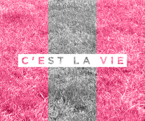 pink and life image