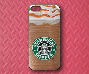starbucks, case, and coffee image