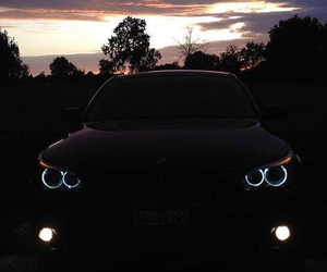 bmw and angel eyes image