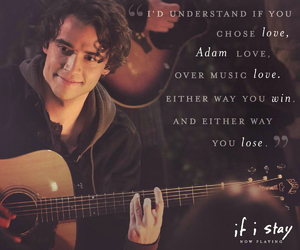 if i stay, quotes, and adam image
