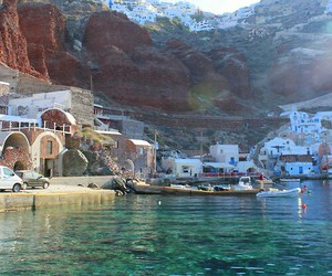 Greece, sea, and water image