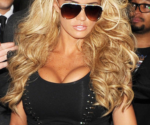 katie price, blonde, and gorgeous image