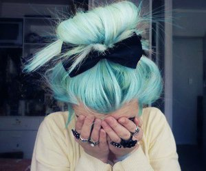 love the color hair image