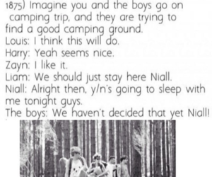 imagine, one direction, and niall horan image