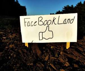 facebook, land, and outside image