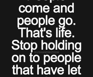 come and go, let go, and life lessons image