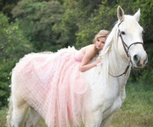 horse and dress image