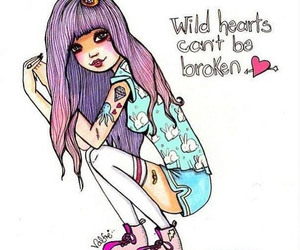 valfre, wild, and art image