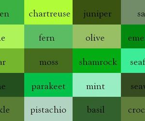 green, colors, and color image