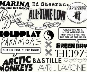 bands, bastille, and coldplay image