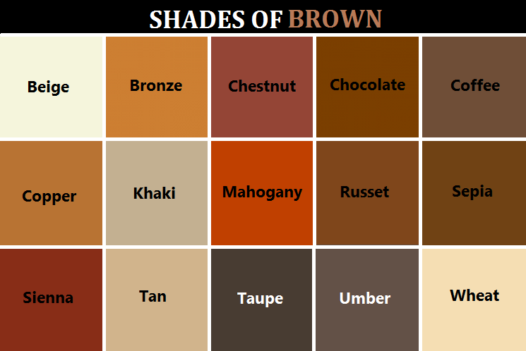 Heres A Handy Dandy Color Reference Chart For You Pun Intended