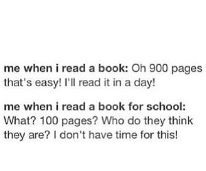 book, school, and funny image