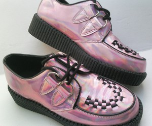 creepers, grunge, and hologram image